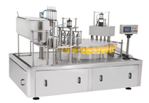 EXR-M semi-automatic middle-opening liquids filler